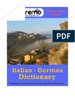 Parleremo Italian-German German-Italian Dictionary 1ed