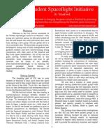 SSI Newsletter #1