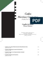 Martínez Compañón - Letras