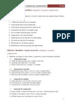 Exercícios de revisão gramatical
