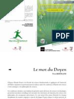 Programme 2012 des « Amphis du Savoir », Poitiers