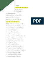 100 mejores obras en castellano