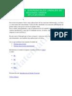 4-Ecuaciones Diferenciales de Segundo Orden-Aplicaciones