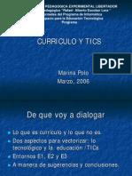 Las Tic y El Curriculo