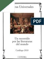Catalogo Catedra Letras Universales