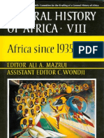 General History of Africa Vol 8