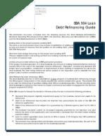SBA 504 Refinancing Information Sheet-1 25 11