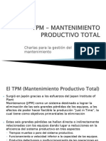 Concepcion Tpm Mantenimiento Productivo Total
