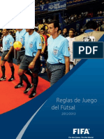 REGLAMENTO DE FUTBOL SALA FIFA 2012-2013