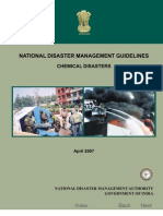 NDMA .. CHEMICAL DISASTER GUIDELINES