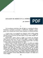 07 - Situacion de Mexico en La America Latina Por Antonio Castro Leal