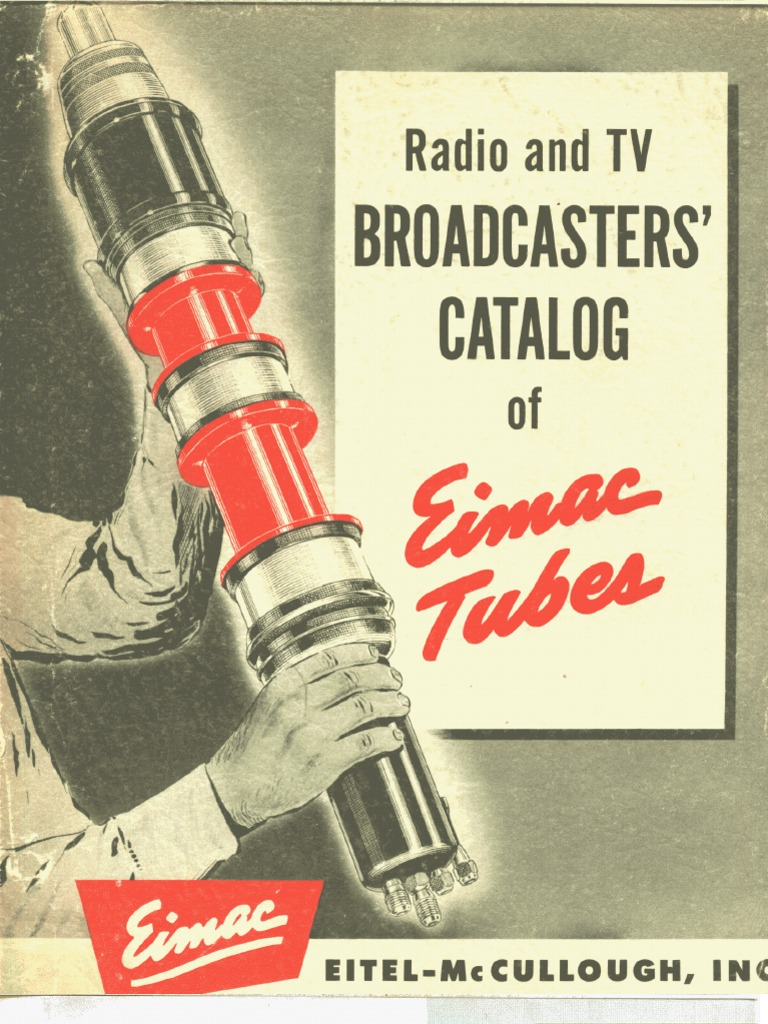 1952 Eimac Broadcasters Tube Catalog Amplifier Vacuum Charge Circuit Composed Of The Opa128 Amplifiercircuit
