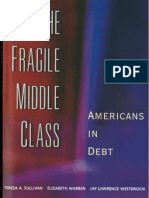 "Excerpts from Elizabeth Warren, ""The Fragile Middle Class"" (2000)"