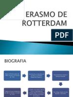 Erasmo de Rotterdam Filo