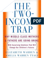 "Excerpts from Elizabeth Warren, ""The Two-Income Trap"" (2003)"