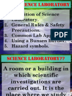 Science laboratory notes science tingkatan 1 power point bab 1 general rules