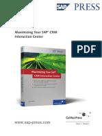 Maximize your SAP CRM Interaction Center.pdf
