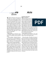 Romanian-English Bible New Testament Acts