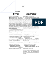 Romanian-English Bible New Testament Hebrews
