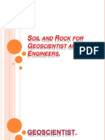 04 - Soil and Rock for Geoscientist and Engineers