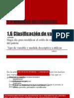 1.5 Med.desc.Interpretación1.6 Clas.Var. MedDesc.a.utilizar.2o. D y E