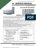 LCD Sharp LC-46LE700UN