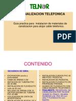 Canalizacion Telefonica 2010 v i