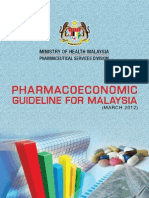 Phamacoeconomic Guideline for Malaysia