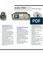 Newtec Reps NTDS to Ethernet