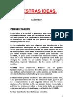 NUESTRAS IDEAS, Ramón Bau