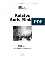 Boris Pilniak Relatos