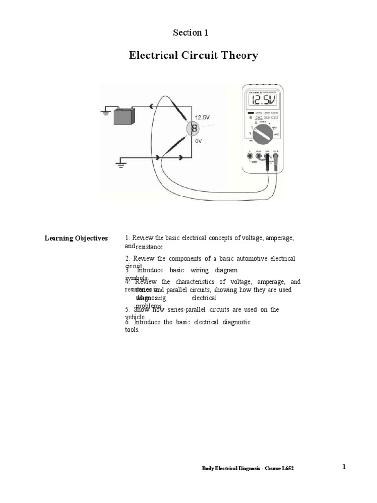 Elec11 Series And Parallel Circuits Electrical Resistance Circuit Diagram Conductance