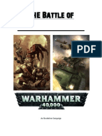 battle of warhammer 40k