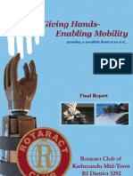 Giving Hands-Enabling Mobility Project Report
