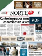 Periodico Norte de Ciudad Juárez 8 de Enero de 2013