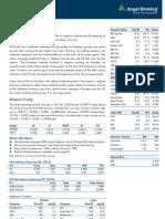 Market Outlook 8th Jan
