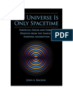 Only Space Time