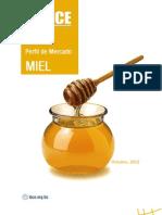 Perfil del mercado de la miel
