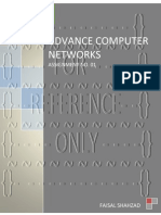 Advance Computer Networks - Assignment No. 01