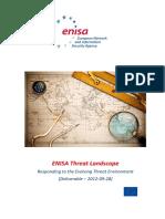 ENISA Threat Landscape