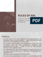 Rules of Air