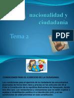 Nacionalidad y Ciudadania
