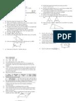 Compulsory Maths question paper class 9