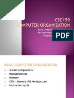 Basic of Computer Organisation