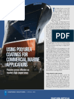 Using Polyurea  coatings for commercial marine applications