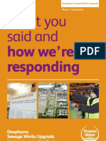 What you said and how we\'re responding