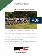world championships tour summary 23-30 sep 2013