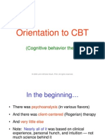 (Psychology, Self-help) Introduction to CBT (Cognitive Behavior Therapy)