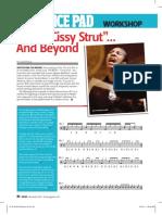 Todd Bishop Inside Cissy Strut Drum Magazine Nov 2010