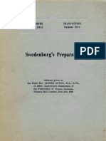 Alfred Acton SWEDENBORG's PREPARATION The Swedenborg Society London 1951